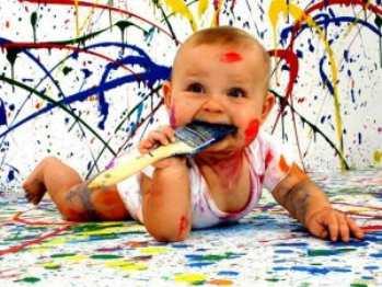 Уроки рисования с детьми раннего возраста