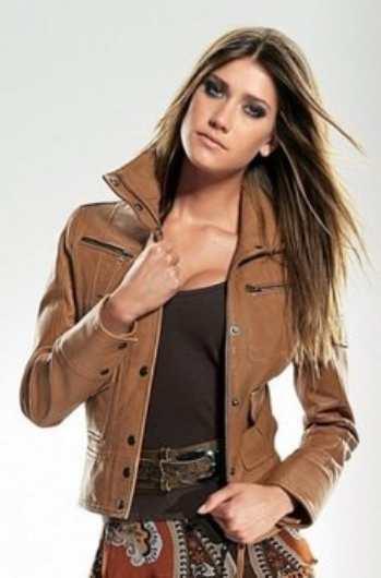 С чем носить кожаную одежду
