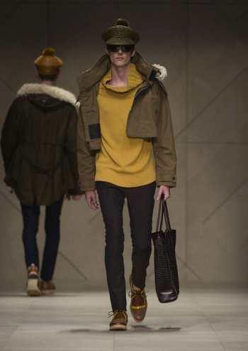 Модный мужской тренд - топ 5 образов с курткой паркой к сезону весна 2012