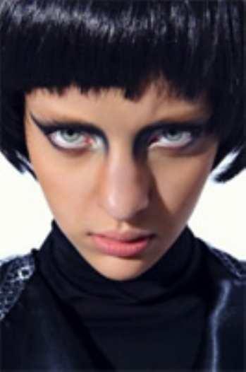 Панковский шик в макияже глаз