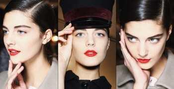 Трендовый макияж: яркие губы + естественные глаза. Пошаговая инструкция