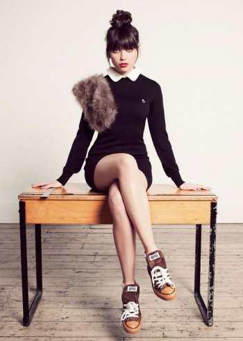 Модные тенденции 2012 - прически с челками снова в топе