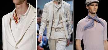 Модные тенденции мужских аксессуаров для весенне-летнего сезона 2013