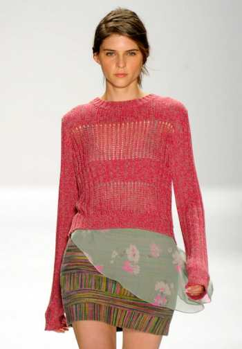 Модный тренд 2012 - калейдоскопичные принты