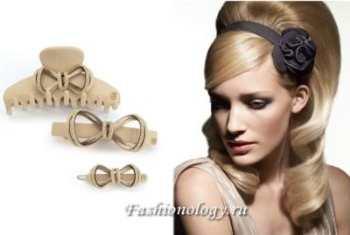 Аксессуары для волос, заколки , ободки на голову от Chanel Gucci