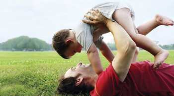 Малыш и папа